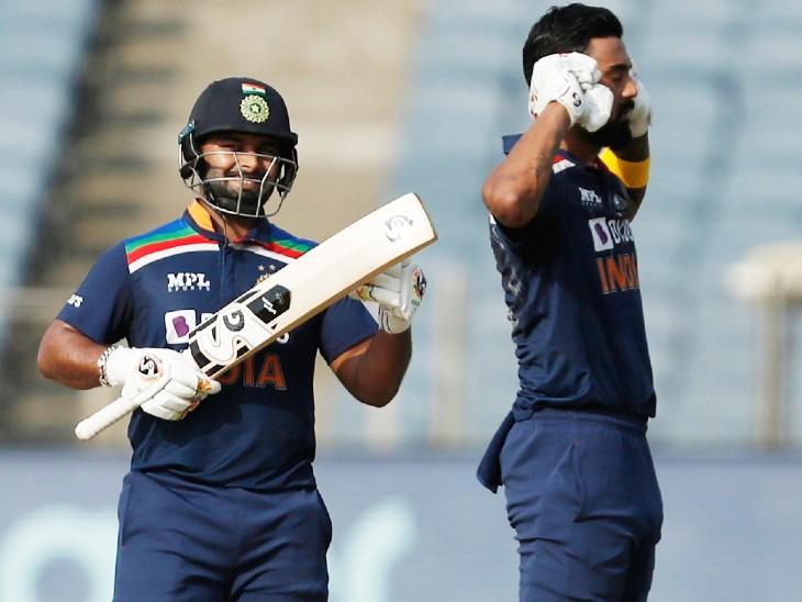 पंत और राहुल ने चौथे विकेट के लिए 80 बॉल पर 113 रन की पार्टनरशिप की।