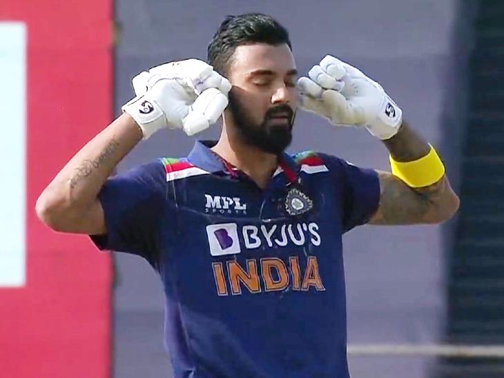 शतक के बाद इस बल्लेबाज ने कान, आंख और मुंह बंद कर सेलिब्रेट किया; फैन्स बोले- आलोचकों को शानदार जवाब मिला|क्रिकेट,Cricket - Dainik Bhaskar