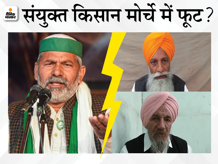 राकेश टिकैत ने खत्म होते किसान आंदोलन में जान डाली; अब वही मनमुटाव की वजह बन रहे हैं, उन पर आम आदमी पार्टी से नजदीकी का आरोप|DB ओरिजिनल,DB Original - Dainik Bhaskar