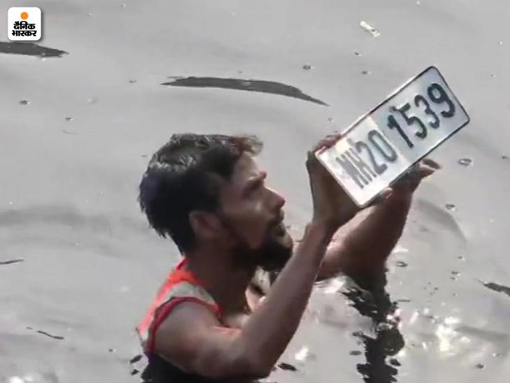 सबूत की तलाश में NIA वझे को मीठी नदी ले गई, 12 गोताखोरों को पानी में उतारा; नदी से 2 कम्प्यूटर CPU, लैपटॉप और 2 नंबर प्लेट मिलीं देश,National - Dainik Bhaskar