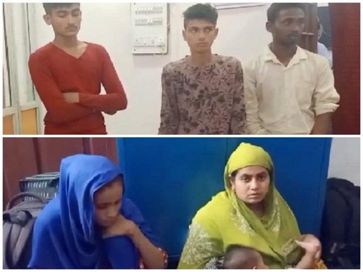 पुलिस को बताया कि पश्चिम बंगाल की सीमा से हजारों लोग भारत आ चुके हैं और छिपकर रह रहे हैं, ये गिरोह भी चार साल से अहमदाबाद में रह रहा है|बिलासपुर,Bilaspur - Dainik Bhaskar