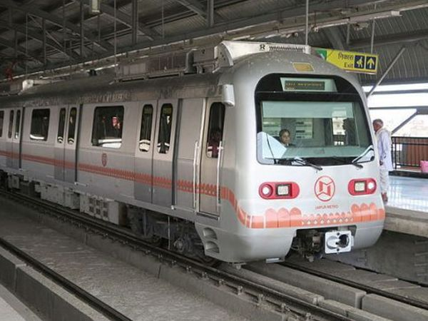 धुलंडी के दिन सुबह मेट्रो बंद रहेगी, दोपहर 2 से रात 9 बजे तक चलेगी; रंग से ट्रेन को गंदा किया तो 200 रुपए का जुर्माना|जयपुर,Jaipur - Dainik Bhaskar