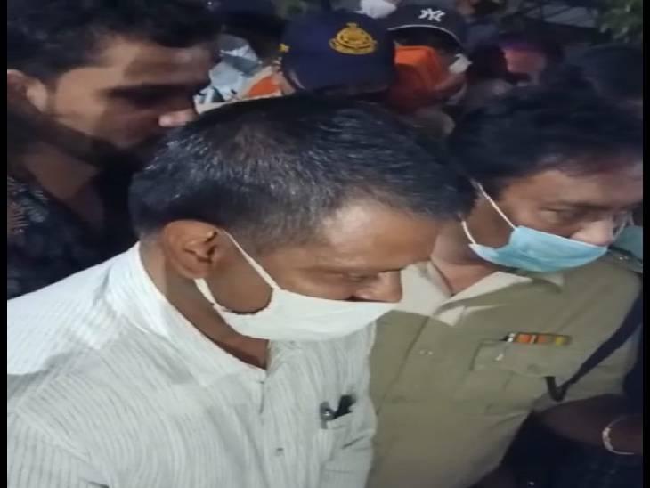 ग्रामीण एएसपी शिवेश सिंह बघेल के आश्वासन पर समाप्त हुआ धरना।