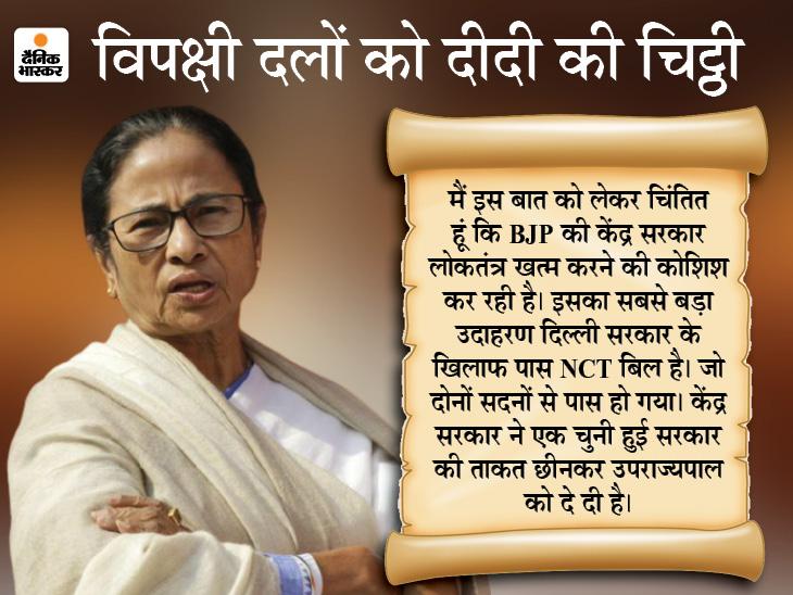 ममता ने कहा- लोकतंत्र बचाने के लिए मिलकर लड़ने का वक्त आ गया; नड्डा बोले- ये विपक्ष की डूबती नाव को बचाने की कोशिश देश,National - Dainik Bhaskar