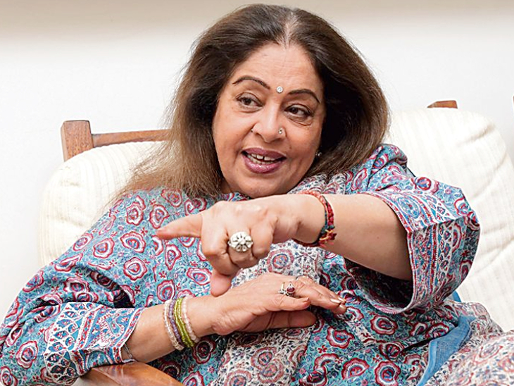 Kiran Kher is ill: 68-year-old actress, who is battling blood cancer, was diagnosed after breaking her hand four months ago. - Divya Bharat 🇮🇳