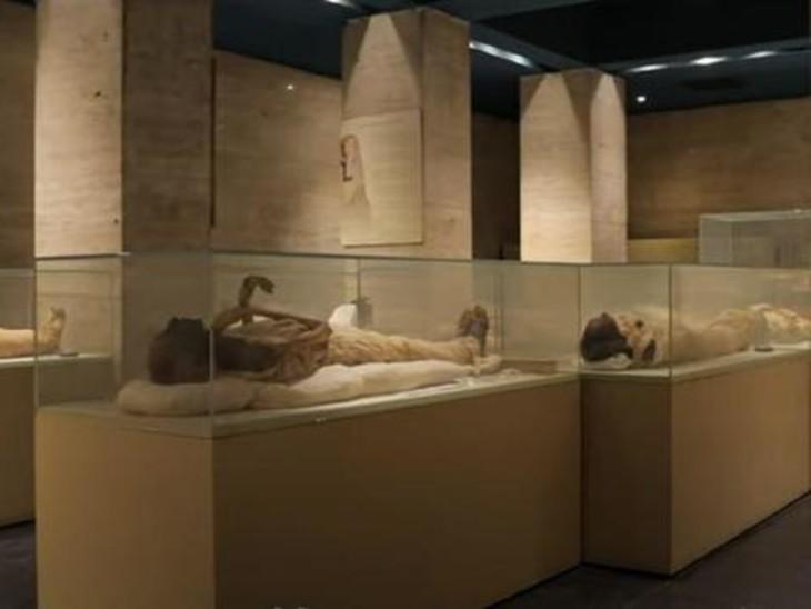 मिस्र में शनिवार को प्राचीन राजा-रानियों की 22 ममियों की शाही परेड होगी, नए संग्रहालय में ले जाई जाएंगी विदेश,International - Dainik Bhaskar