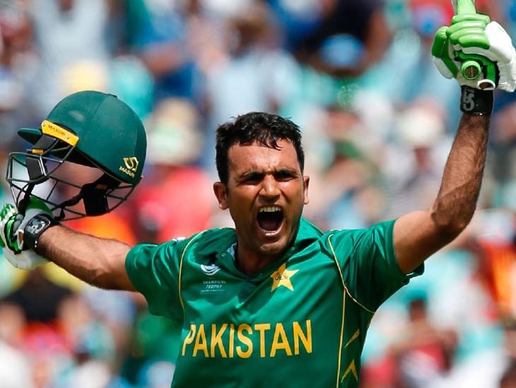 पाकिस्तान के काम न आई फखर जमान की 193 रनों की पारी, टारगेट का पीछा करते हुए सबसे बड़ी पारी खेली|क्रिकेट,Cricket - Dainik Bhaskar