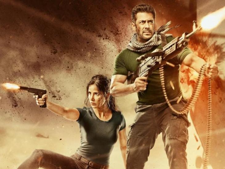 कटरीना कैफ के कोविड पॉजिटिव होने के बावजूद 'टाइगर 3' की शूटिंग पर नहीं पड़ा कोई असर, 'पठान' की सेम लोकेशन पर हो रही है शूटिंग|बॉलीवुड,Bollywood - Dainik Bhaskar