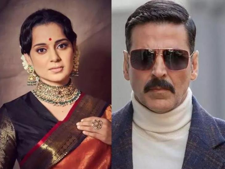 कंगना रनोट बोलीं-अक्षय कुमार जैसे बड़े स्टार्स ने सीक्रेट कॉल कर 'थलाइवी' के ट्रेलर की तारीफ की, लेकिन'मूवी माफिया' के डर से वे खुल कर नहीं बोलते|बॉलीवुड,Bollywood - Dainik Bhaskar