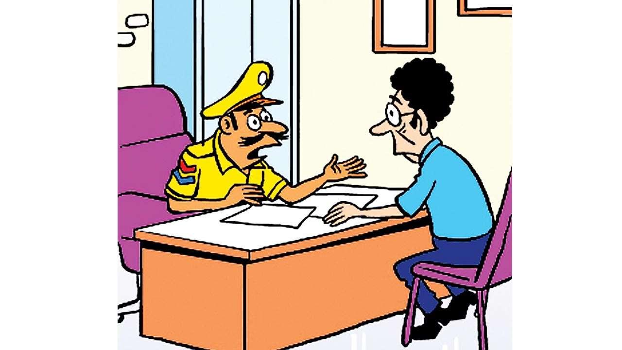 कर्मचारी ने पुलिस को इसकी शिकायत दी, जिसके बाद केस दर्ज कर लिया गया है। - प्रतीकात्मक फोटो - Dainik Bhaskar