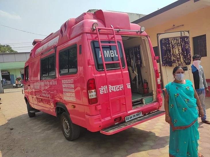 कोरोना के मरीजों को पेण्ड्रा से रायपुर तक पहुंचा रही पूर्व CM की गाड़ी, सरकार को दी थी नहीं उपयोग हुआ तो NGO को सौंपा रायपुर,Raipur - Dainik Bhaskar