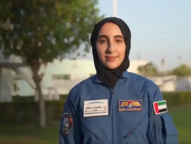 यूएई में 27 वर्षीय नूरा अल मातुशी बनी पहली महिला अंतरिक्ष यात्री, मैकेनिकल इंजीनियरिंग ग्रेजुएट इस महिला को नासा के जॉनसन स्पेस सेंटर में मिलेगा प्रशिक्षण|लाइफस्टाइल,Lifestyle - Dainik Bhaskar