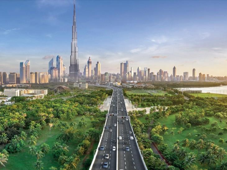 रेगिस्तान के बीच में बसे दुबई का मास्टर प्लान, 2040 तक 60% हिस्सा हरियाली से ढकेंगे, अभी सिर्फ 20% ग्रीन कवर|विदेश,International - Dainik Bhaskar
