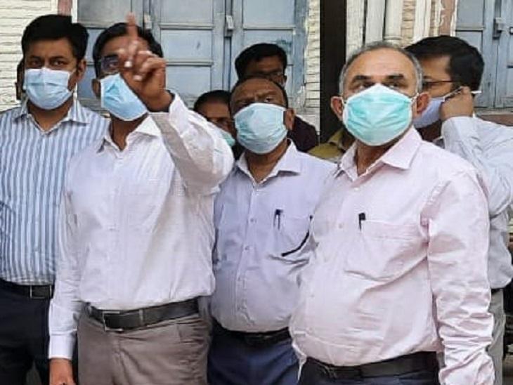 सोमवार को स्वास्थ्य विभाग के प्रधान सचिव प्रत्यय अमृत के भी संपर्क में आए थे PMCH के प्रिंसिपल। - Dainik Bhaskar