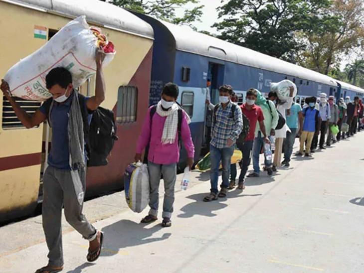 2010 यात्रियों को लेकर महाराष्ट्र से आई ट्रेनों में युवाओं में मिला कोरोना, बुजुर्ग और बच्चों में नहीं मिला संक्रमण|बिहार,Bihar - Dainik Bhaskar