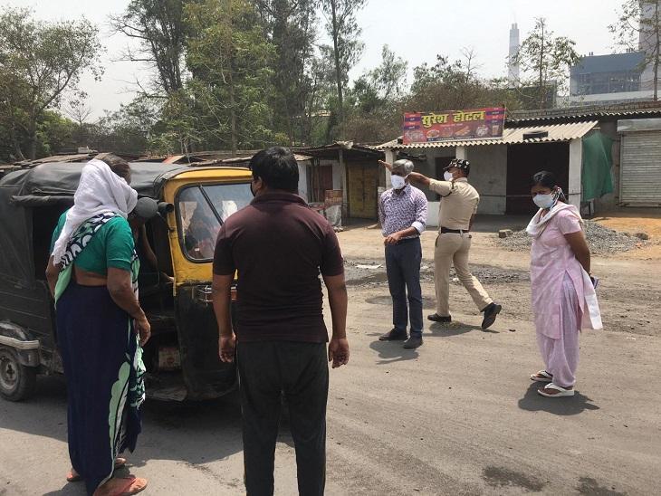 छत्तीसगढ़ के कोरबा में लॉकडाउन के दौरान कलेक्टर खुद सड़क पर निकलीं। इस दौरान उन्होंने लापरवाही पर अफसरों को फटकार लगाई। - Dainik Bhaskar