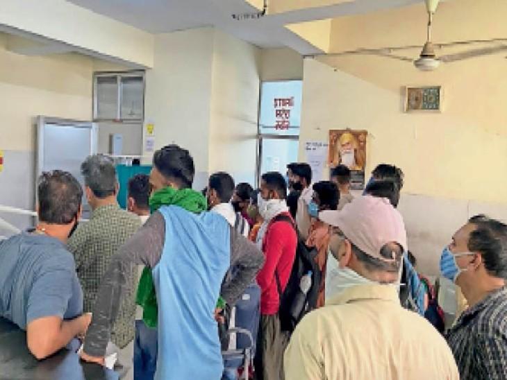 भयावहता देखिए... 24 घंटे में 4 ने दम तोड़ा, स्वस्थ बच्चे को जन्म देने वाली संक्रमित मां की एक दिन बाद मौत|जालंधर,Jalandhar - Dainik Bhaskar