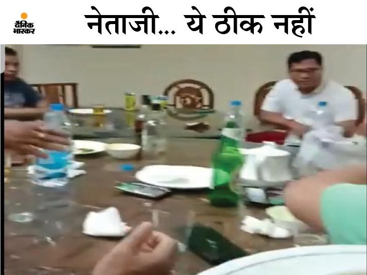 महामारी के बीच भूपेश सरकार असम के कांग्रेस नेताओं की आवभगत में व्यस्त, मेहमानों के लिए अपने ही बनाए नियम ताक पर|छत्तीसगढ़,Chhattisgarh - Dainik Bhaskar