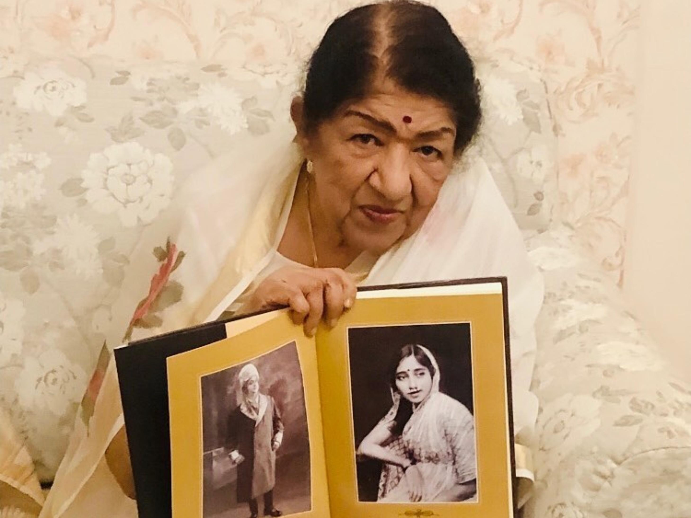 गुड़ी पड़वा पर लॉन्च हुआ लता मंगेशकर का एलबम भावार्थ माउली, बोलीं- मैं मरते दम तक गाने की कोशिश करूंगी|बॉलीवुड,Bollywood - Dainik Bhaskar