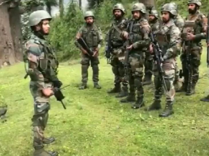 Army officer gave instructions to Troops before operation close to LOC, jawan said- Sir, ready | आर्मी अफसर ने LOC के करीब ऑपरेशन से पहले ट्रूप्स को डायरेक्शन दिए, जवान बोले- तैयार हैं सर