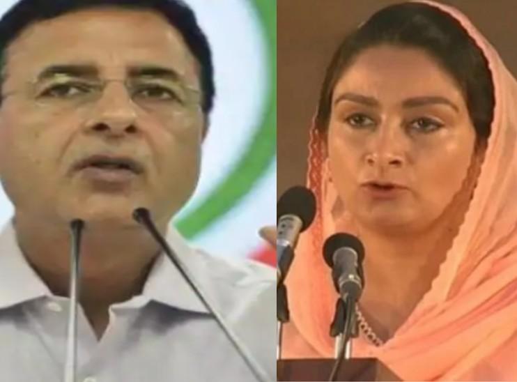 कांग्रेस के राष्ट्रीय प्रवक्ता रणदीप सुरजेवाला हुए संक्रमित, पूर्व केंद्रीय मंत्री हरसिमरत कौर की भी रिपोर्ट आई पॉजिटिव|हरियाणा,Haryana - Dainik Bhaskar