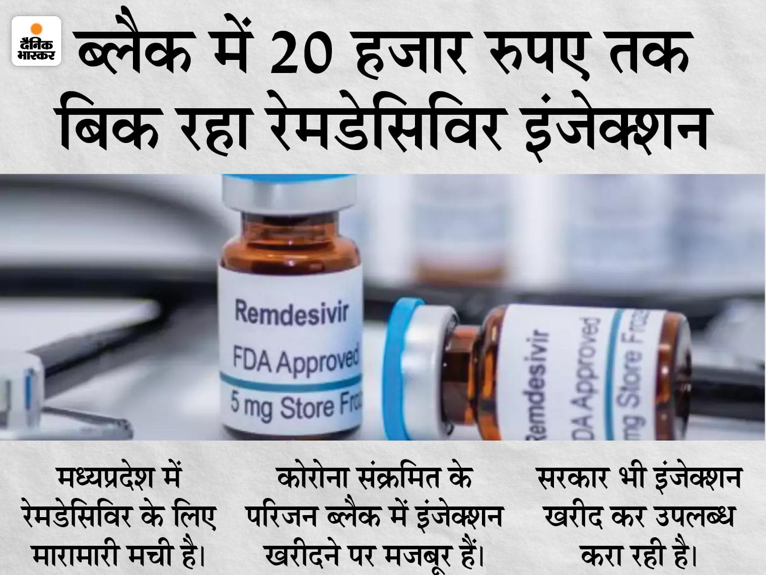भोपाल के हमीदिया अस्पताल से 853 रेमडेसिविर इंजेक्शन चोरी; सेंट्रल स्टोर की ग्रिल काट कर चोरों ने उड़ाया इंजेक्शन भोपाल,Bhopal - Dainik Bhaskar
