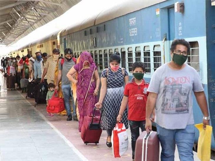 ट्रेन या रेलवे स्टेशन पर मास्क न लगाने पर देना होगा 500 रुपए का जुर्माना, यहां-वहां थूकना भी पड़ेगा भारी|बिजनेस,Business - Dainik Bhaskar