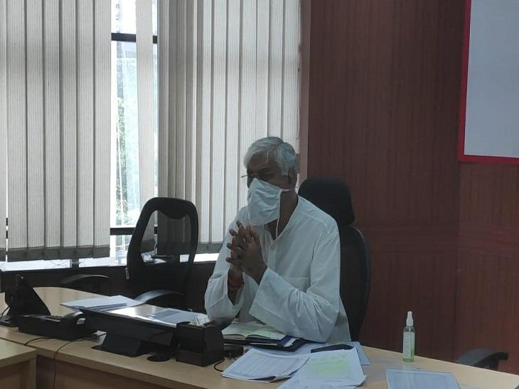 छत्तीसगढ़ ने बताया- ICU में 100% ऑक्यूपेंसी, केंद्र सरकार से 100 प्री फैब्रिकेटेड ICU यूनिट मांगी रायपुर,Raipur - Dainik Bhaskar