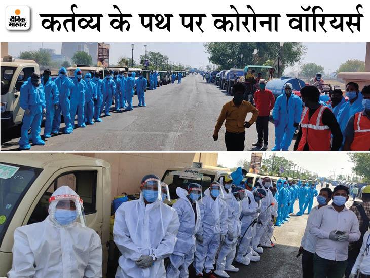योगी आदित्यनाथ बोले- हर अस्पताल में 36 घंटे का हो ऑक्सीजन बैकअप; मास्क न पहनने वालों पर सख्ती करें, लखनऊ में चला 'महाअभियान' लखनऊ,Lucknow - Dainik Bhaskar
