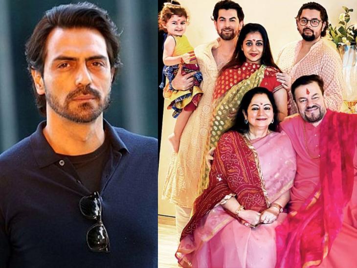 अब अर्जुन रामपाल भी हुए कोरोना संक्रमित, नील नितिन मुकेश और उनकी फैमिली के कुछ मेंबर्स भी पॉजिटिव|बॉलीवुड,Bollywood - Dainik Bhaskar