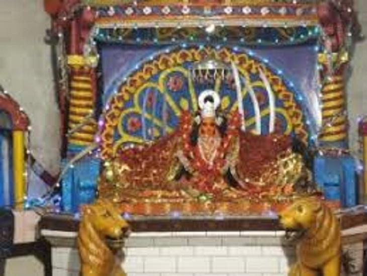 महाअष्टमी पर देवी मंदिर से निकलेगा खप्पर, 100 साल से भी पुरानी है ये धार्मिक परंपरा; शांतिपूर्ण ढंग से होगा पूजन कवर्धा,Kawardha - Dainik Bhaskar