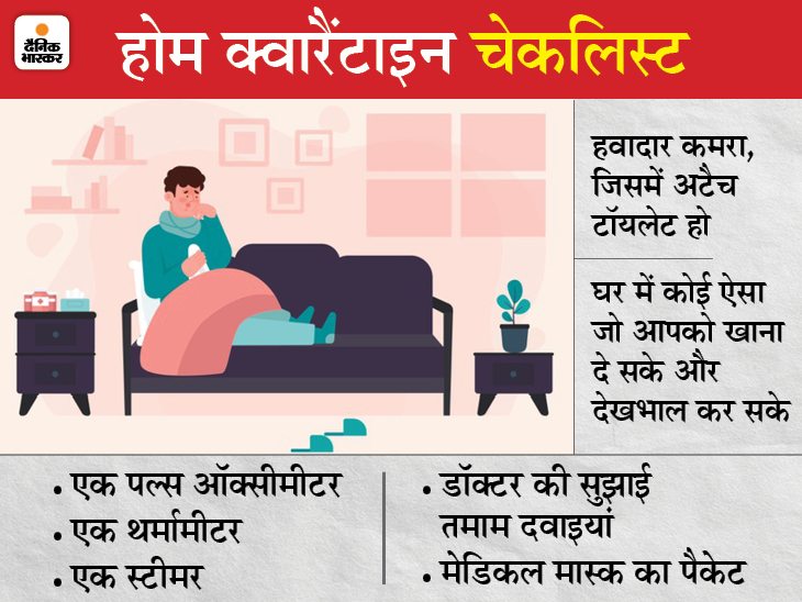 बेड और ऑक्सीजन की है भारी किल्लत, होम आइसोलेशन में रहकर इन तरीकों से रह सकते हैं सुरक्षित एक्सप्लेनर,Explainer - Dainik Bhaskar