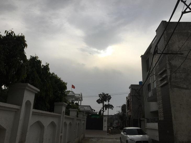 आसमान में छाए बादलों ने बढ़ाई किसान और आढ़तियोंकी चिंता, आज कई जिलों में बारिश की आशंका|पानीपत,Panipat - Dainik Bhaskar