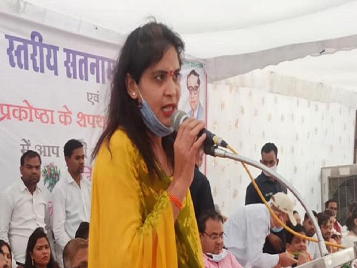 शकुंतला साहू इससे पहले भी कई तरह के ट्वीट की वजह से विवादों में रह चुकी हैं। फाइल फोटो। - Dainik Bhaskar