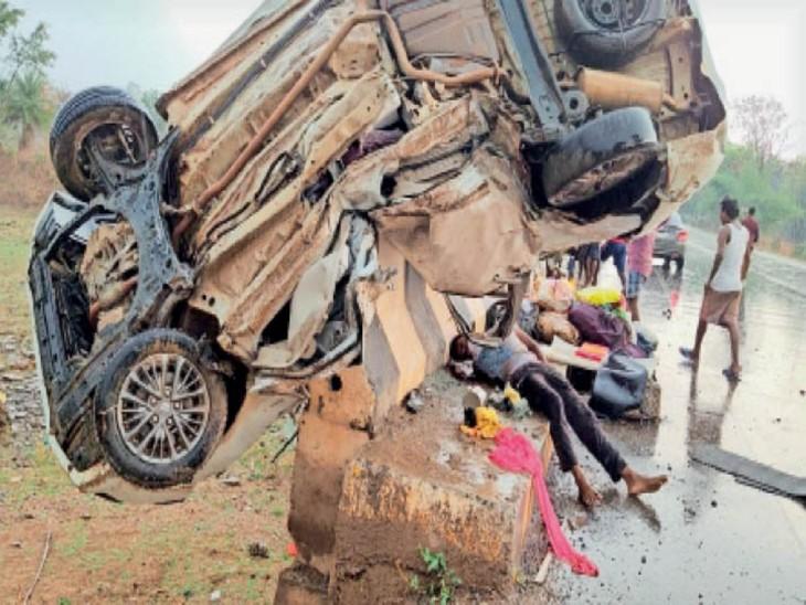 3 बार कार पुल की रेलिंग पर गिरी, 2 भाइयों और एक छात्र की हो गई मौत