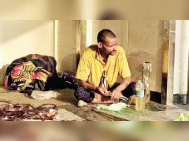 हाथ में चाकू-पेंचकस ले सिविल अस्पताल में पहुंचा युवक, नशा उतरने पर भाग निकला|पानीपत,Panipat - Dainik Bhaskar