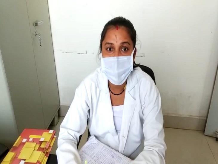 बालोद जिला अस्पताल में 8 माह की गर्भवती स्टाफ निभा रही फर्ज, कहा- दूसरों की जान की चिंता है, परिवार से भी मिल रहा सहयोग|बालोद,Balod - Dainik Bhaskar
