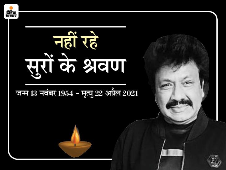 नहीं रहे मशहूर संगीतकार जोड़ी नदीम-श्रवण के श्रवण राठौड़, कोरोना पॉजिटिव थे; 90 के दशक में आशिकी मूवी से मिली पहचान|बॉलीवुड,Bollywood - Dainik Bhaskar