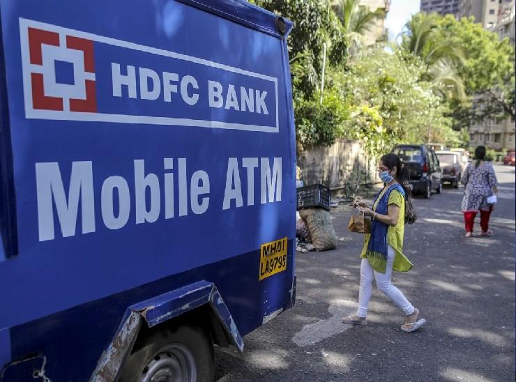 HDFC बैंक ने देश के 19 शहरों में शुरू किया मोबाइल ATM, बिना मास्क और सैनिटाइजर के नहीं मिलेगा पैसा बिजनेस,Business - Dainik Bhaskar