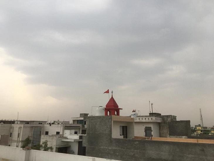 बूंदाबांदी के साथ हुई दिन की शुरूआत, ठंडी हवाओं ने दिलाईगर्मी से राहत, दिनभरबादल छाने के आसार|पानीपत,Panipat - Dainik Bhaskar