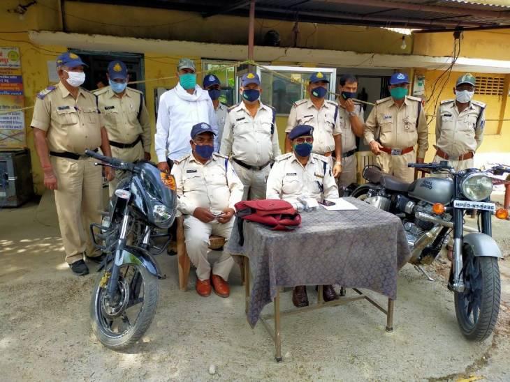 72 घंटे में पुलिस ने लुटेरों को दबोचा, चार लुटेरों ने दिया था वारदात काे अंजाम|जबलपुर,Jabalpur - Dainik Bhaskar