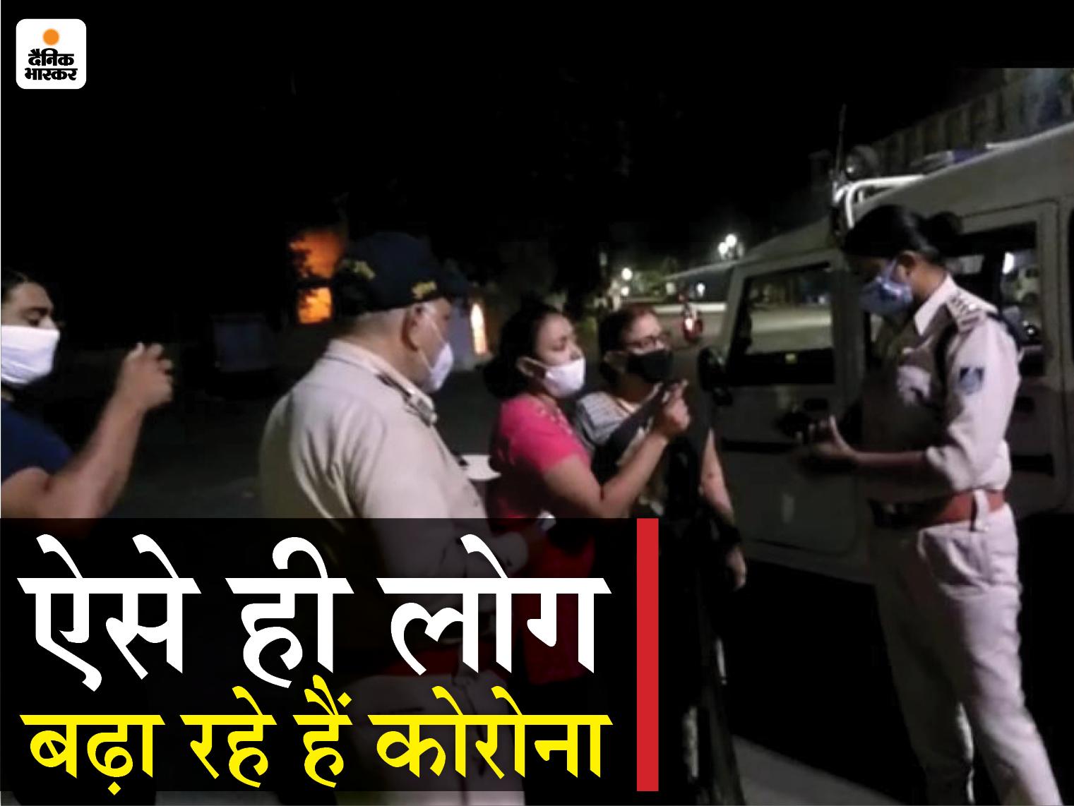 TI ने कहा- हाथ जोड़ती हूं चले जाओ, युवती बोली- पैर भी पड़ लो, पूरे परिवार पर केस दर्ज, दूसरी घटना में कांस्टेबल को पीटा|जबलपुर,Jabalpur - Dainik Bhaskar