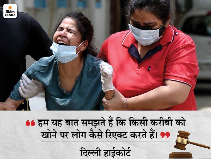 दिल्ली हाईकोर्ट ने कहा- ये कोरोना की सुनामी है, ऑक्सीजन सप्लाई में रुकावट डालने वाले अफसर को फांसी पर चढ़ा देंगे|देश,National - Dainik Bhaskar