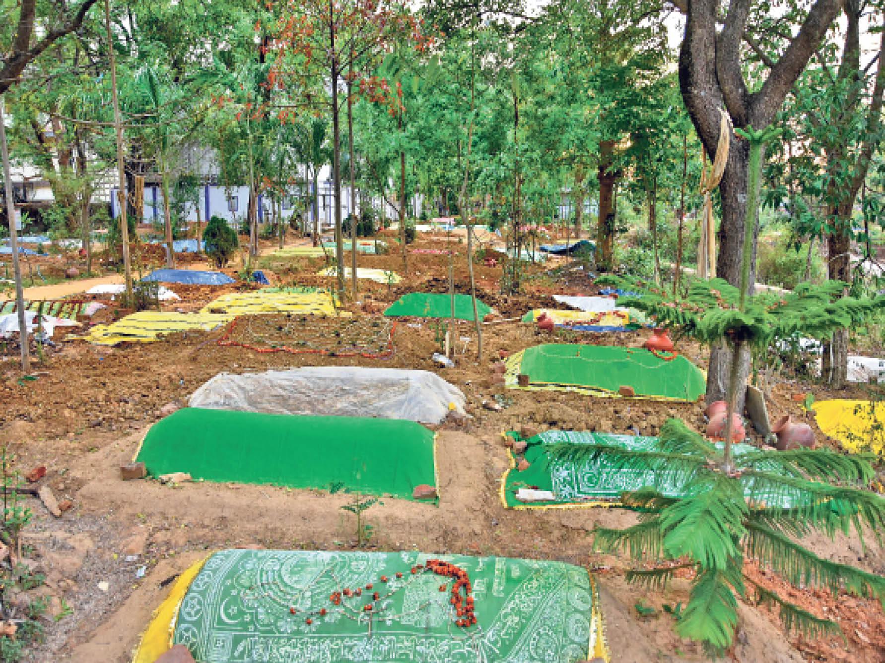 श्मशान में 109 शवों का हुआ अंतिम संस्कार, 63 थे कोरोना संक्रमित, कब्रिस्तानों में भी जगह नहीं|रांची,Ranchi - Dainik Bhaskar