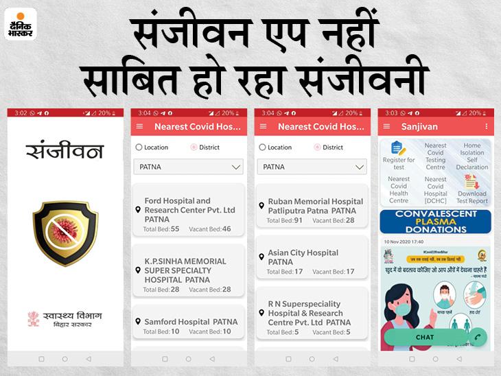 सरकार ने जिस अस्पताल में खाली बताया बेड, भास्कर की पड़ताल में मिला फुल|बिहार,Bihar - Dainik Bhaskar