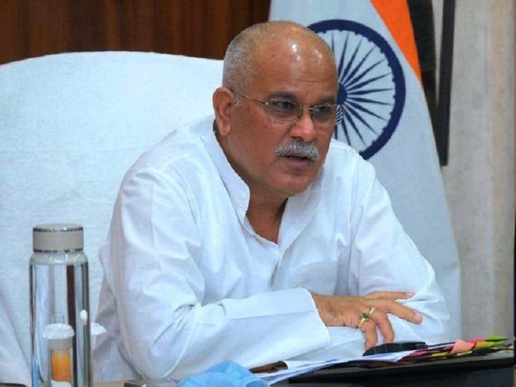 छत्तीसगढ़ के मुख्यमंत्री ने 'केंद्र सरकार के सिस्टम' पर लगाया लूट का आरोप, कहा- आपदा भी जनता झेले और आपदा से बचने का आर्थिक बोझ भी|रायपुर,Raipur - Dainik Bhaskar