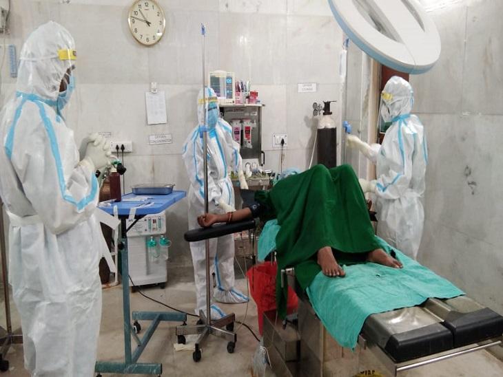 12 हजार नए मरीज तो ठीक होने वालों की संख्या 11 हजार, पिछले 24 घंटे में प्रदेश के 190 संक्रमिताें की जान गई|रायपुर,Raipur - Dainik Bhaskar