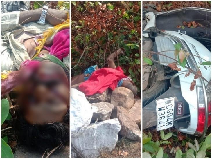 गरियाबंद में स्कूटी सवार दो लोगों के सड़क किनारे मिले शव; किसी वाहन से टक्कर की आशंका, दोनों की शिनाख्त नहीं छत्तीसगढ़,Chhattisgarh - Dainik Bhaskar