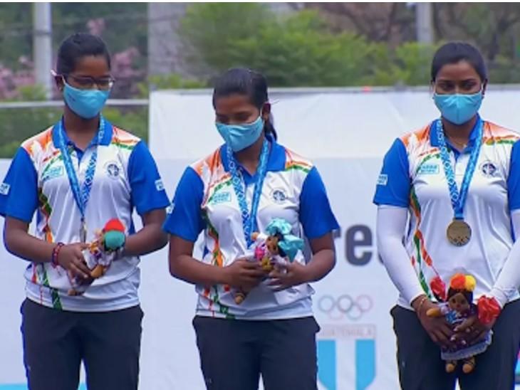 भारतीय महिला रिकर्व टीम ने पांच साल बाद जीता गोल्ड; दीपिका कुमारी को दो गोल्ड मेडल स्पोर्ट्स,Sports - Dainik Bhaskar