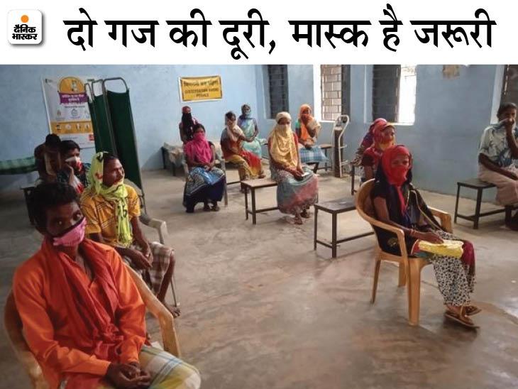 दंतेवाड़ा में 127 में से नक्सलगढ़ सहित 116 पंचायतों में 100% वैक्सीनेशन; 25 दिन में ही 36,591 ग्रामीणों ने लगवा लिया टीका|छत्तीसगढ़,Chhattisgarh - Dainik Bhaskar